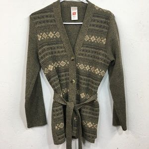 Vintage St Michael Made In UK Cardigan Sweater